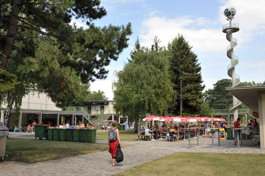 """Blog Gänsehäufl Donau Vienne """"Lido der Wiener"""""""