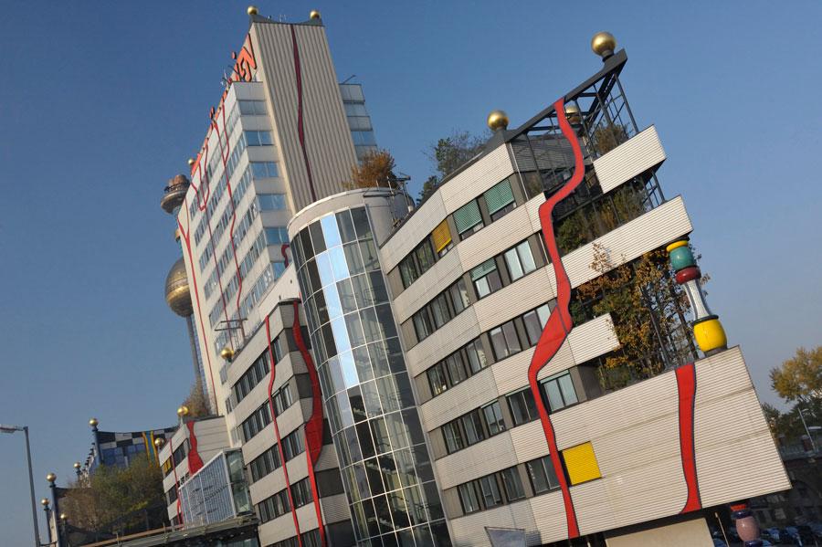 Müllverbrennungsanlage Blog Vienne Spittelau Hundertwasser incinérateur