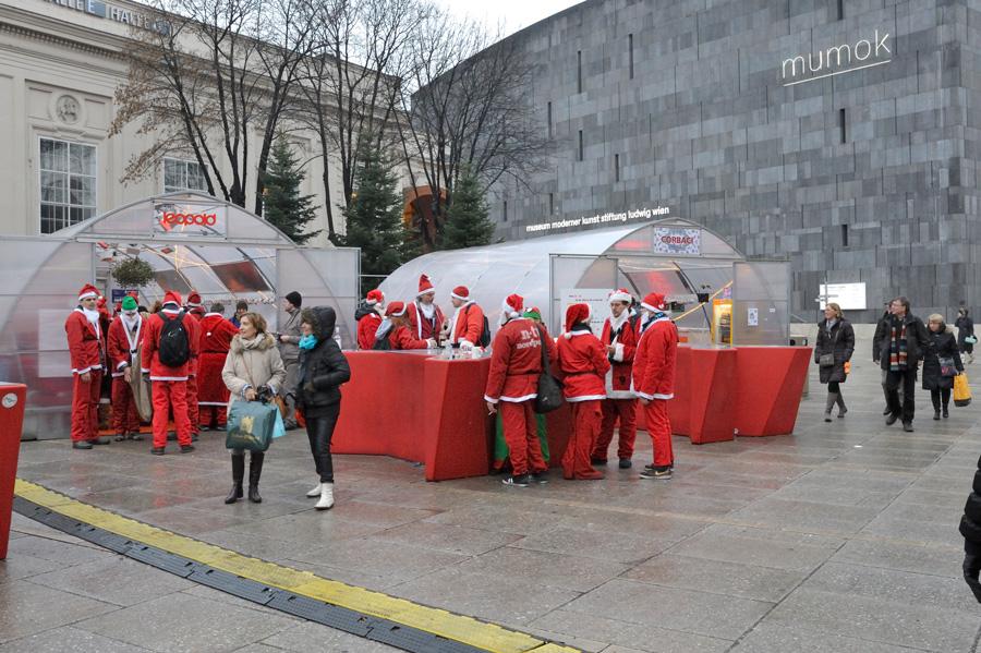 Des Enzis Bar pour les Père Noël !