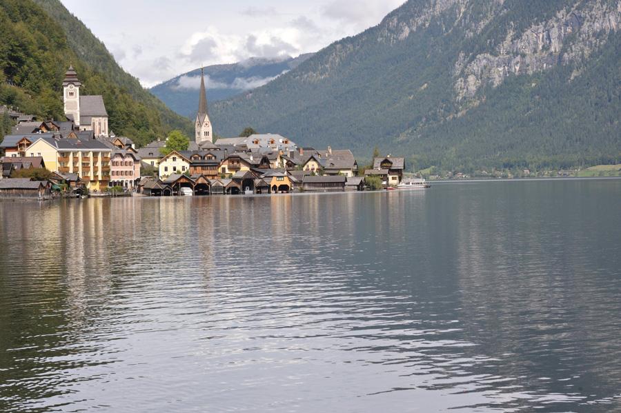 Salzkammergut, Hallstättersee, Hallstatt, Autriche