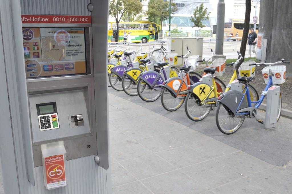 Borne de station Citybike