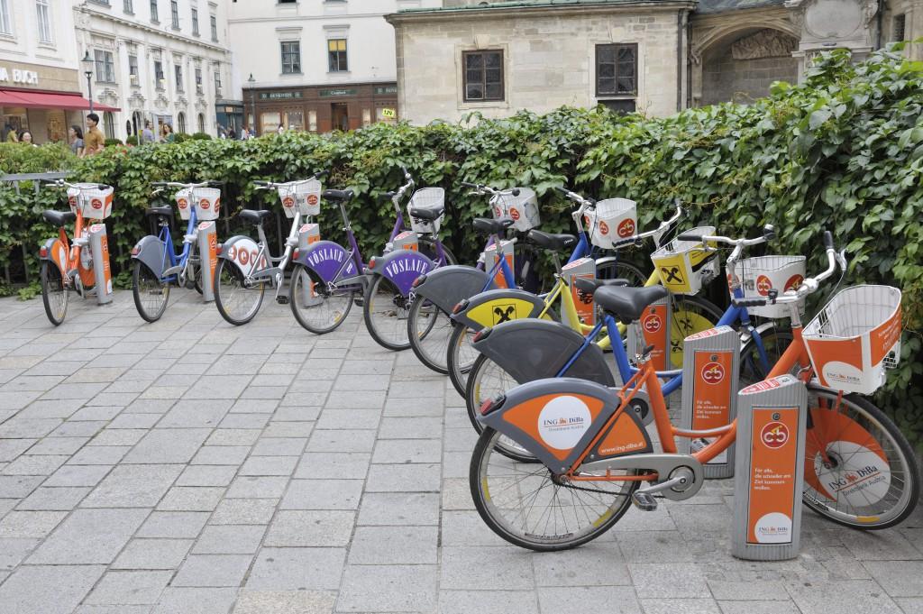 Une des cent stations Citybike
