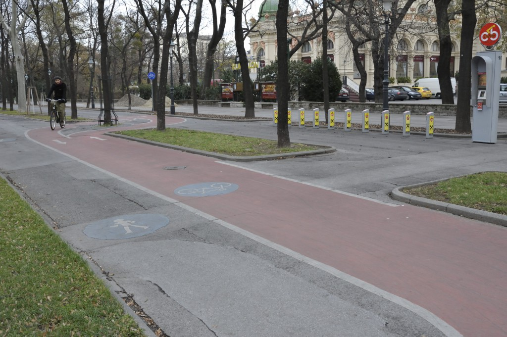 Piste cyclable sur le Ring