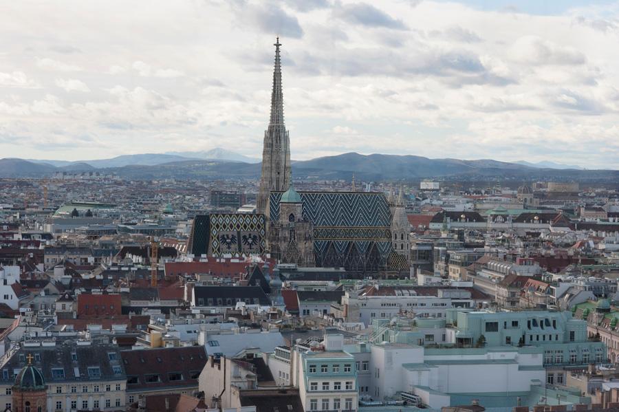 "Stephansdom Südturm Nordturm ""Hans Puchsbaum"" ""Die Spinnerin am Kreuz"""