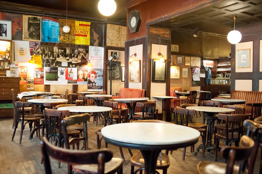 Kaffeehaus, blog, Café, Vienne, Hawelka