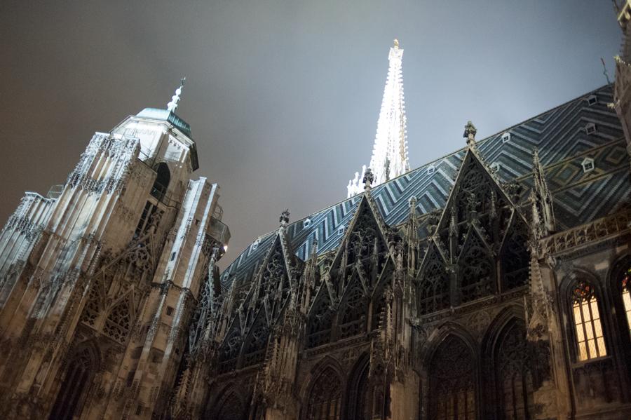Bonne Année, Guter Rutsch, Nouvel an, Vienne, Stephansdom, Sylvesterpfad, Saint-Sylvestre, Pummerin