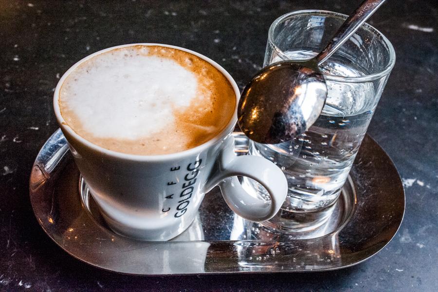 Blog, Entropy, Melange, Café Goldegg, Cafés viennois, Kaffeehaus, Kaffeevariationen, Wien