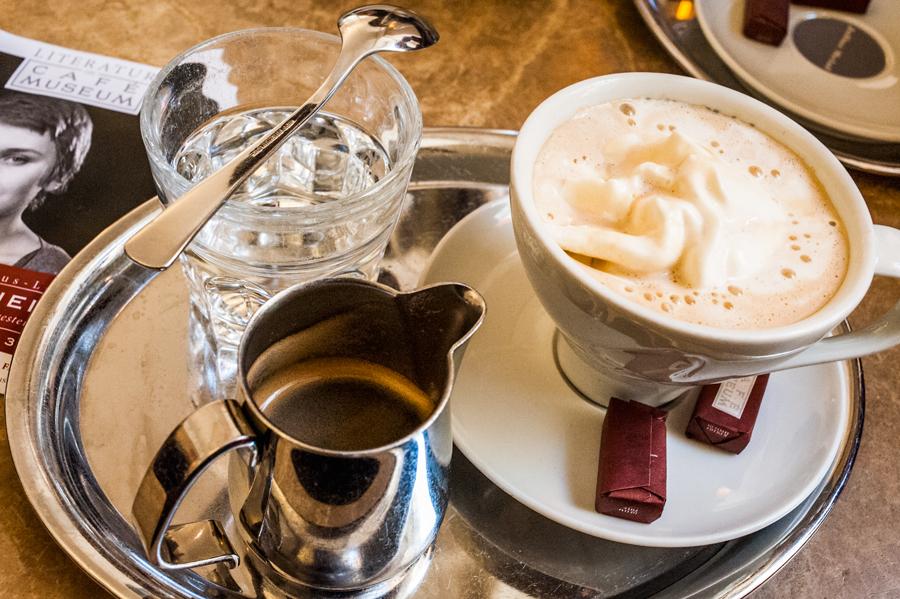 Blog, Entropy, Überstürzter Neumann, Café Museum, Cafés viennois, Kaffeehaus, Kaffeevariationen, Wien